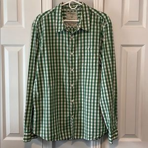 Guess vintage button down long sleeve shirt